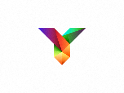 Y (not for sale) logo mark web development y initial letter colors unused