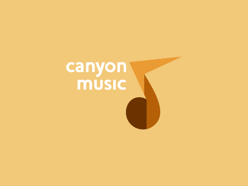 canyon music music canyon logo for fun