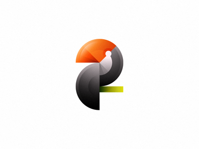 Toucan logo (not for sale) icon design branding logo design logo mark bird geometry toucan gradients