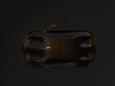 VR Headset 3D Model Glow Neon cinema 4d material glow texture modelling device game headset virtual reality vr 3d