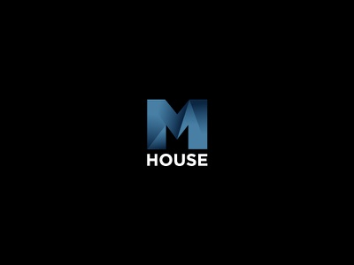 M house poligon m logo mhouse