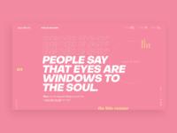 Type pink