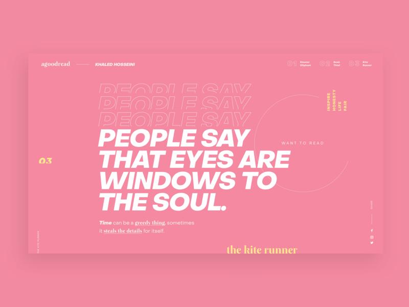 Typography Website Design minimal website design typogaphy web  design website web