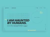 Typography Website Design