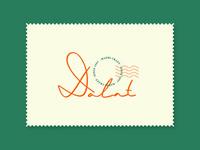 Dalat Hand-lettering