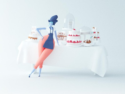 Preview of a yummy animated project I'm working on! smb patisserie