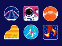 Exhibition Badges