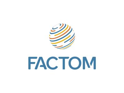 Factom Rebrand fct blockchain rebrand logo factom