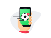 Football App Illustration