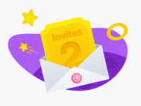 2 Dribbble Invites - Are you ready to play?