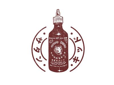 Satan Kiddo - Hot Sauce tshirt apparel clothing sriracha sauce hot kiddo satan