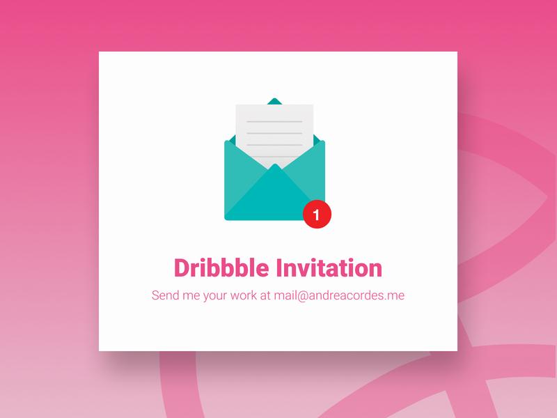 Dribbble Invite ui design pink dribbble ball dribbble invite giveaway dribbble invitation dribbble invite dribbble