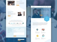 Blue Medora Labs Site Design