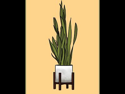 Plant Life icon design web graphic branding procreate illustration