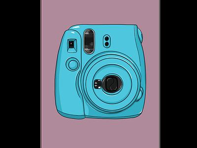 Snapshots design graphic icon web branding procreate illustration
