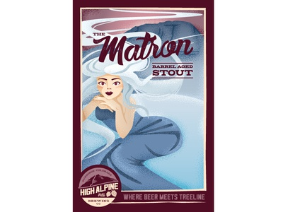 The Matron Full Label