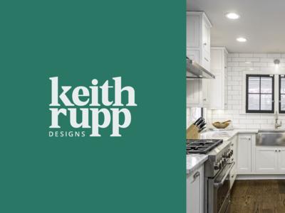 Keith Rupp Designs – Primary Logo
