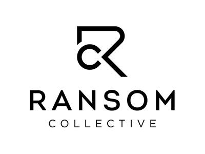 Ransom Collective Black Logo logo icon branding