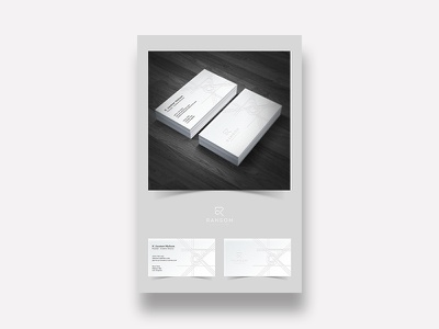 Ransom Collective Layout logo icon branding