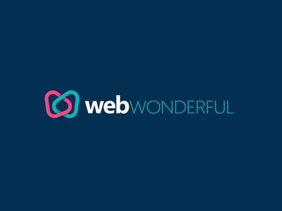 webWONDERFUL Logo Font branding agency branding web design logo icon