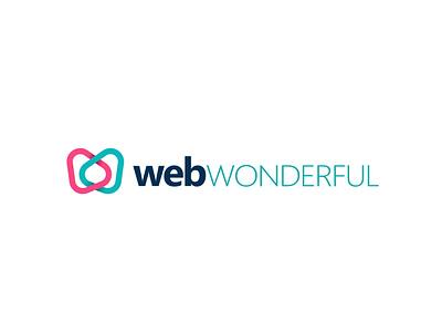 webWONDERFUL Logo Font branding agency branding web design icon logo