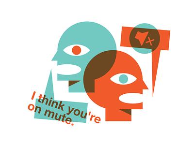 Work Call Love Story 💔 illustrator riso typography print illustration branding