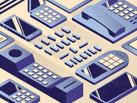 12 Days of Design: 7 Phones-a-Ringing