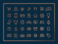 Unused Real Estate Area Icons