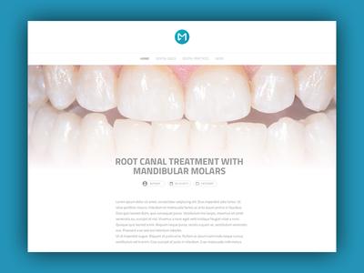 Casemasters Blog Post flat design components react gatsbyjs ux blog post dental social network casemasters ui