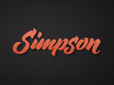 Simpson Vector