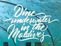 Maldives | Venture #BucketList