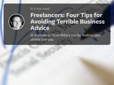 Freelancers: Four Tips