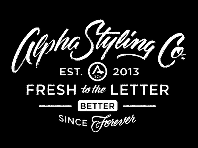 Lockup Play lettering scripts type typography labels alpha streetwear apparel goods lockup