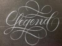 Legend script large