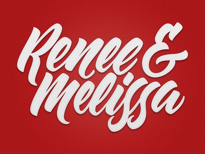 Renee & Melissa Logotype