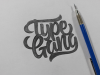 Type Gang Sketch