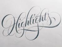 Highlights Sketch