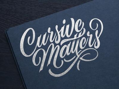 Cursive Matters education plans cursive sketch script lettering