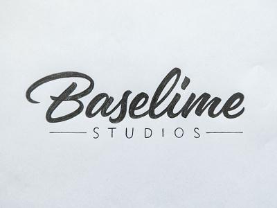 Logotype Sketch 2016 update brushscript baselime logotype sketch script lettering