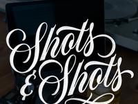 Shots   shots lettering