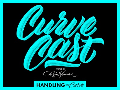 The CurveCast from Handling the Curve curvecast interviews news show design podcast handling the curve lettering
