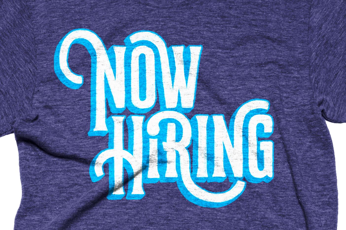 Now hiring iv