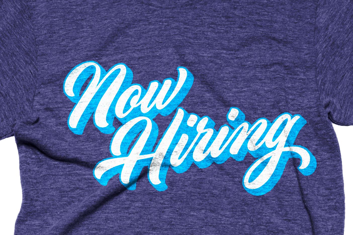Now hiring i