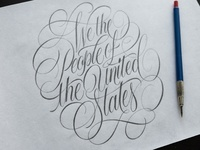 We the People Sketch
