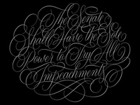 All Impeachments Vector