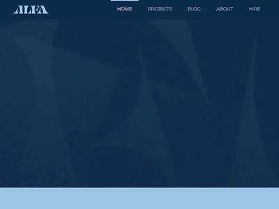 ALFA is Here app advocacy representation web design website launch agency sponsored wix type design lettering alfa