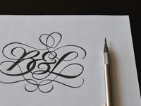 B l monogram ii huge