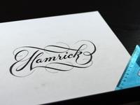 Hamrick Script