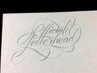 Letterhead sketch