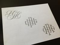 PGH Monogram Sketches